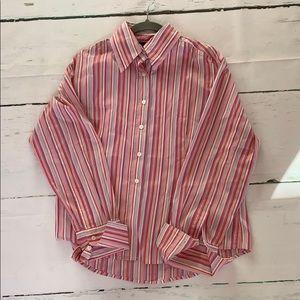 Gorgeous spring striped dress shirt